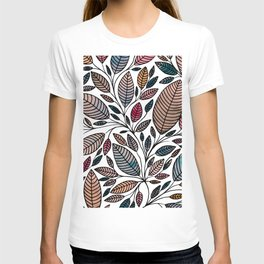 Leaf Illustration T-shirt