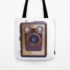 Boxed Camera Tote Bag