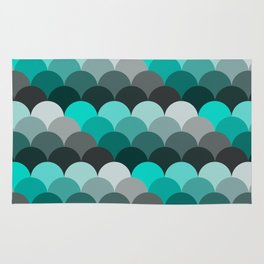 Green and Gray Rug