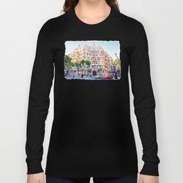 La Pedrera Barcelona Long Sleeve T-shirt