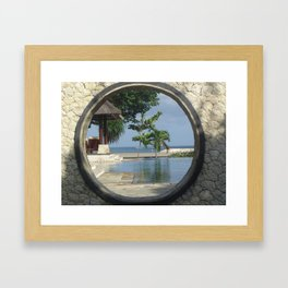 A View of Paradise Framed Art Print