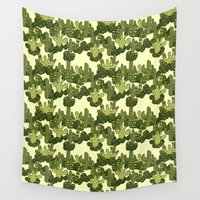 cacti Wall Tapestries featuring Cacti by Lburleighdesigns