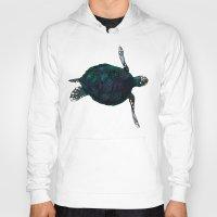 sea turtle Hoodies featuring Sea Turtle by Ben Geiger
