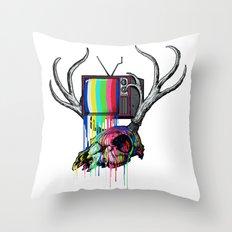COLORS TV Throw Pillow