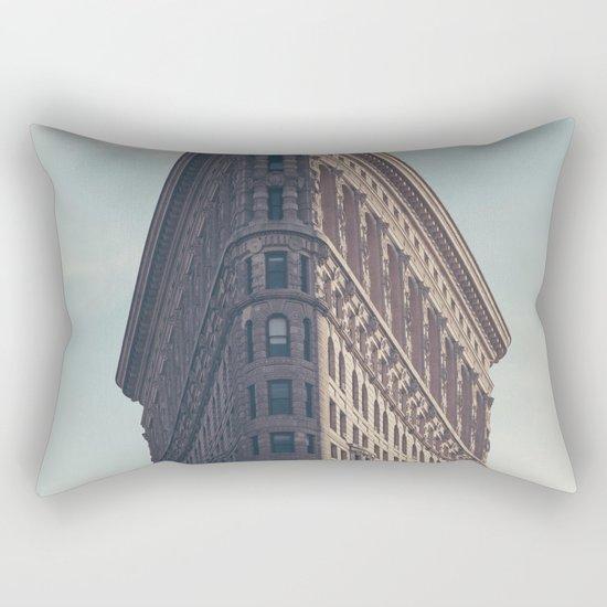 Flat Flat Iron - NYC Rectangular Pillow