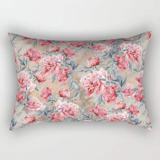 Peony II Rectangular Pillow
