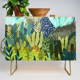 Wild Jungle || #illustration #painting Credenza