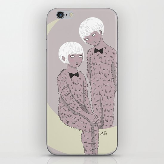 Hirsute iPhone Skin