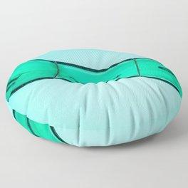 Sliding into Summer Floor Pillow