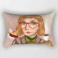 Log Lady - My Log Has Something To Tell You Rectangular Pillow