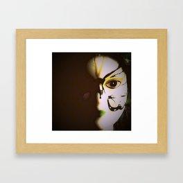 Doll In Color Framed Art Print