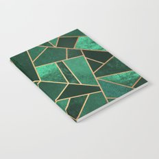 Emerald and Copper Notebook