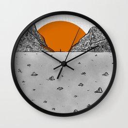 re birth Wall Clock