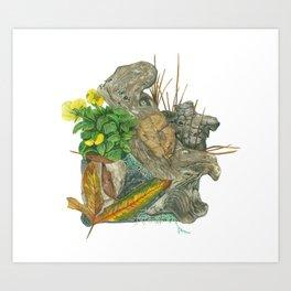 Micro Habitat Art Print