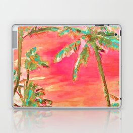 Vintage Hawaiian Beach, Mauna Lani Bay Laptop & iPad Skin