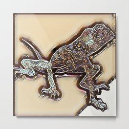 Gecko Metal Print