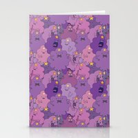 lumpy space princess Stationery Cards featuring Lumpy Space Princess by Beesants