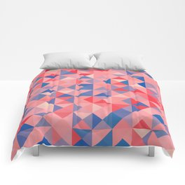 colorful Triangles 1 Comforters