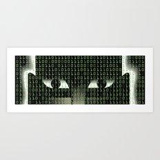 Hellish Hack Art Print