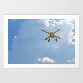 eye in the sky Art Print