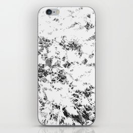 Black and White Wheat iPhone Skin