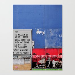 Street Collage II Canvas Print