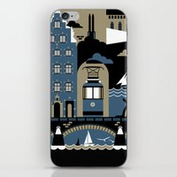 stockholm iPhone & iPod Skins featuring Stockholm by koivo