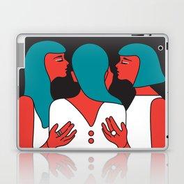 Gender PRIDE LGBT LGBTIQ QUEER FEMINIST FEMINISM ACTIVISM ACTIVIST Hero Laptop & iPad Skin