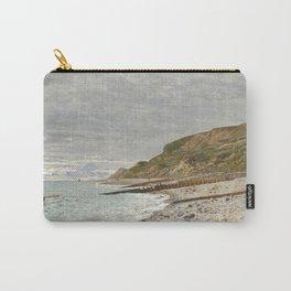 La Pointe de la Hève, Sainte-Adresse by Claude Monet Carry-All Pouch