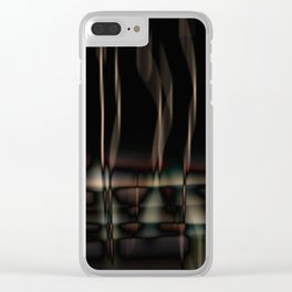 night reflections Clear iPhone Case