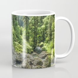 Looking Out From Under North Falls Coffee Mug