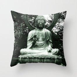 Siddhartha, Golden Gate Park, San Francisco, California Throw Pillow