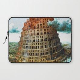 Pieter Bruegel the Elder Tower of Babel Laptop Sleeve