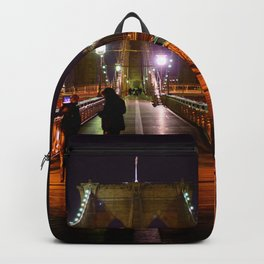 Brooklyn Bridge at Night Backpack