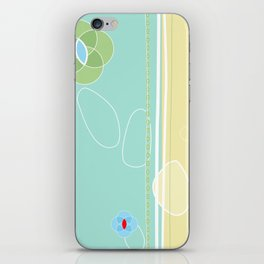 izzy may's garden iPhone Skin