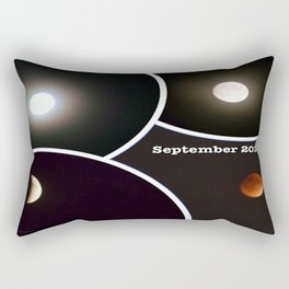 2015 Eclipse of the Red Moon Rectangular Pillow
