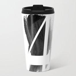 No. FOUR - new typography Travel Mug