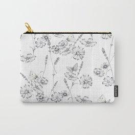 Plein Air  Pencil Sketch Carry-All Pouch