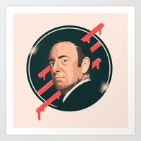frank underwood Art Prints featuring Underwood by Virtual Window