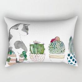 Bad Cat Rectangular Pillow