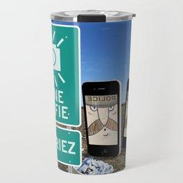 Zone Selfie - Souriez Travel Mug