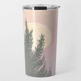 Evening Moonrise Travel Mug
