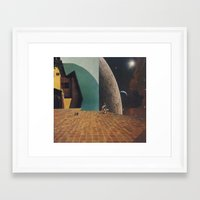 shining Framed Art Prints featuring shining by Mirawek Wolff