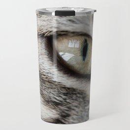eye cat Travel Mug