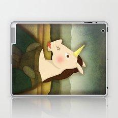 Mona Lisa Unicorn Laptop & iPad Skin