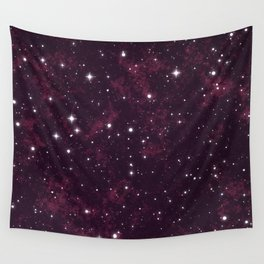 Burgundy Space Wall Tapestry