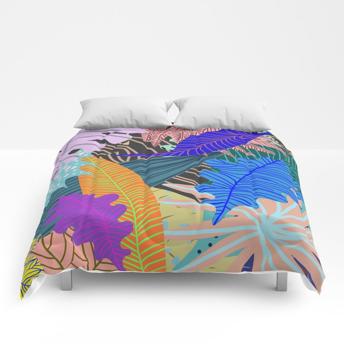 Lush Leaves 2 Comforters