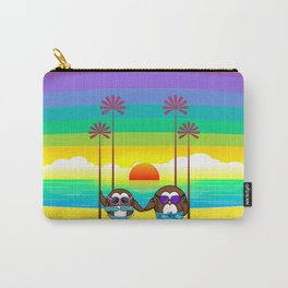 owls are back to vacations Carry-All Pouch