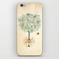 tree of life iPhone & iPod Skins featuring Life Tree by Paula Belle Flores