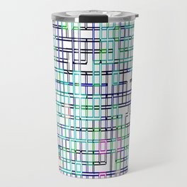 lines colors mystery relaxation in mystery Travel Mug